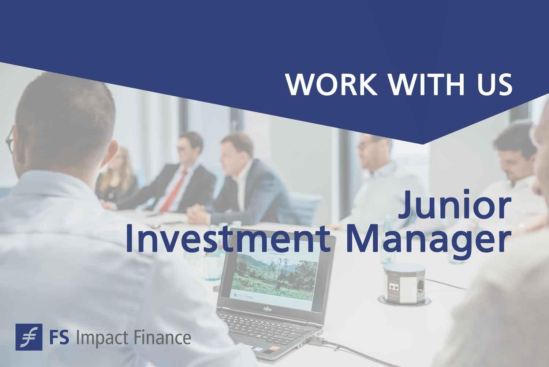 Junior Investment Manager